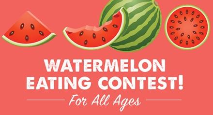 Farmers Market Watermelon Contest