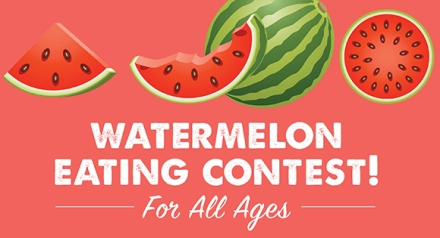 Farmers Market Watermelon Contest