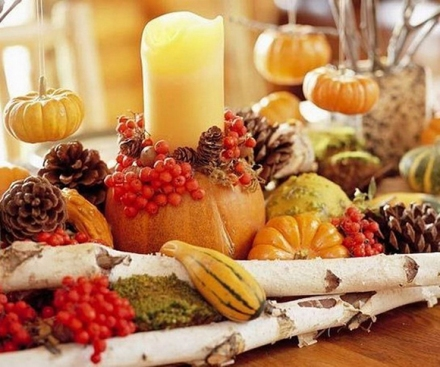 Creative Fruit Thanksgiving Table Centerpiece Decorating Ideas Cool Designs